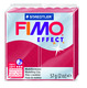 FIMO effect  modelling clay, ruby red (metallic), box of 6