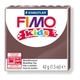 FIMO kids modelling clay, brown, box of 8