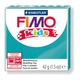 FIMO kids modelling clay, turquoise, box of 8