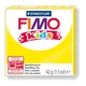 FIMO kids modelling clay, yellow, box of 8