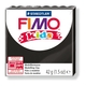 FIMO kids modelling clay, black, box of 8