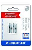 Metal double-hole sharpener, 2bk