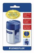 STAEDTLER double-hole tub sharpener, blistercard