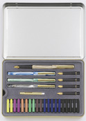 STAEDTLER calligraphy set of 5 in tin