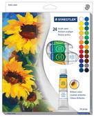 Acrylic paint, 24pc 12ml tube