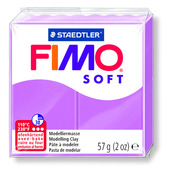 FIMO soft modelling clay, lavender, box of 6
