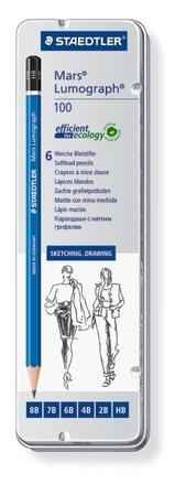 Mars Lumograph Premium pencil, set of 6 picture