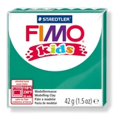 FIMO kids modelling clay, green, box of 8