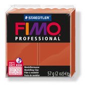 FIMO professional modelling clay, terracotta, box of 6