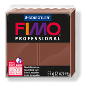 FIMO professional modelling clay, chocolate, box of 6