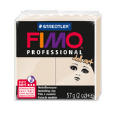 FIMO professional doll art modelling clay, beige, box of 6