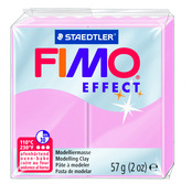 FIMO effect  modelling clay, light pink, box of 6