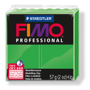 FIMO professional modelling clay, sapgreen, box of 6