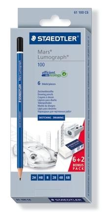 Mars Lumograph Premium pencil, 6pcs set picture