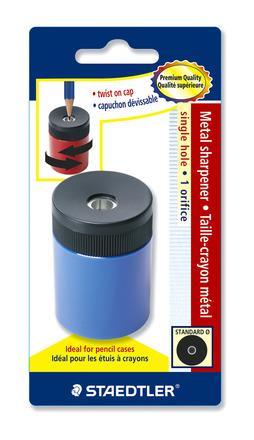 STAEDTLER single-hole tub sharpener, blistercard picture