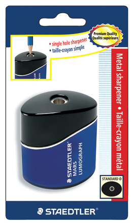 Lumograph single-hole tub sharpener oval, blistercard picture