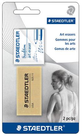 Art eraser set 2pc BK picture