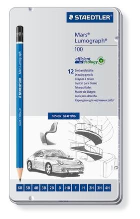 Mars Lumograph Premium pencil, set of 12 picture