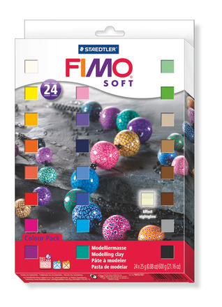 Fimo soft MP 24pcs picture