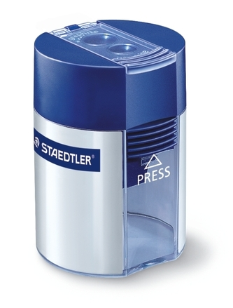 STAEDTLER double-hole tub sharpener, box of 10 picture