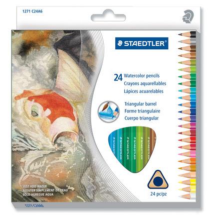 Watercolored pencils 24pk picture