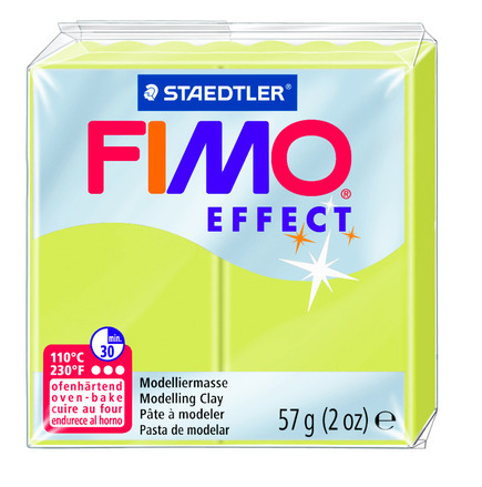 FIMO effect  modelling clay, citrine, box of 6 picture