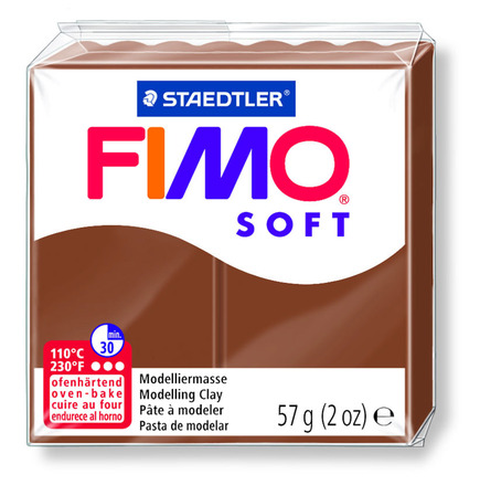 FIMO soft modelling clay, caramel, box of 6 picture