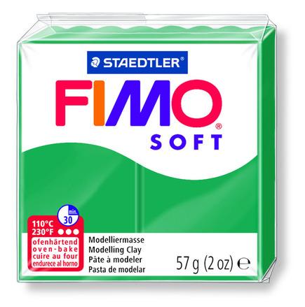 FIMO soft modelling clay, emerald, box of 6 picture