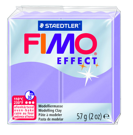 FIMO effect  modelling clay, lilac picture