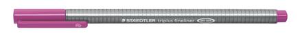 triplus fineliner  0.3mm Dark Mauve, box of 10 picture