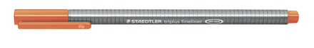triplus fineliner  0.3mm Orange, box of 10 picture