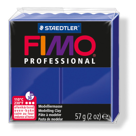 FIMO professional modelling clay, ultramarine, box of 6 picture