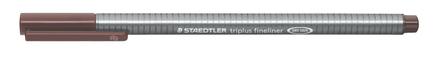 triplus fineliner 0.3mm Van Dyke Brown, box of 10 picture