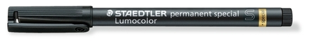 Lumocolor permanent special Super-Fine Black, box of 10 picture