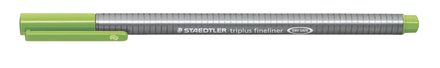 triplus fineliner 0.3mm Light green, box of 10 picture