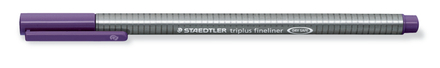 triplus fineliner 0.3mm Red Violet, box of 10 picture