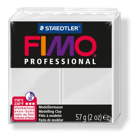 FIMO professional modelling clay, dolphin grey, box of 6 picture