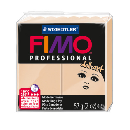 FIMO professional doll art modelling clay, sand, box of 6 picture