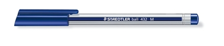 Ball 432 ballpoint pen, Medium blue, box of 10 picture