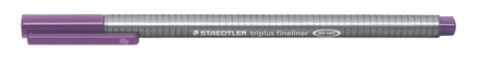 triplus fineliner  0.3mm Violet, box of 10 picture