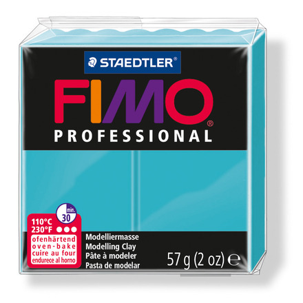 FIMO professional modelling clay, turquoise, box of 6 picture