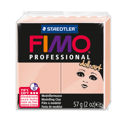 FIMO professional doll art modelling clay, rose, box of 6 picture