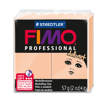 FIMO professional doll art modelling clay, cameo, box of 6 picture
