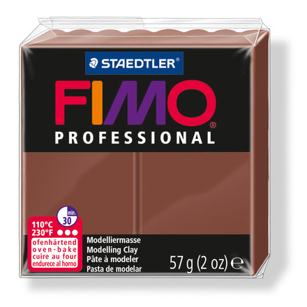 FIMO professional modelling clay, chocolate, box of 6 picture