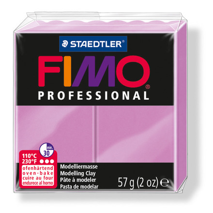 FIMO professional modelling clay, lavender, box of 6 picture