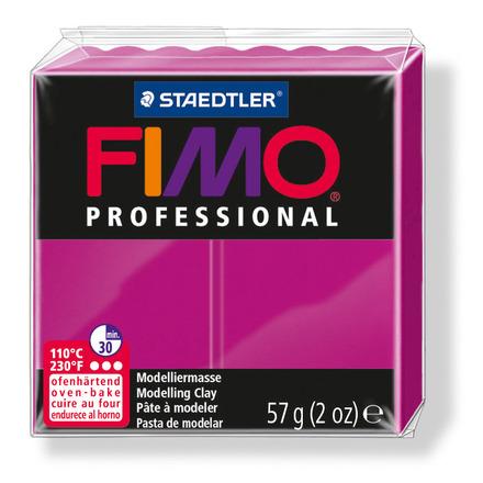 FIMO professional modelling clay, true magenta, box of 6 picture