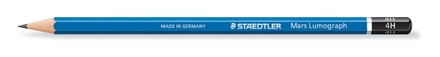 Mars Lumograph Premium pencil 4H, box of 12 picture