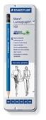 Mars Lumograph Premium pencil, set of 6