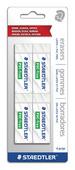 STAEDTLER PVC/Latex free eraser, 4pk
