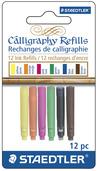 STAEDTLER calligraphy refill assorted, 12pk